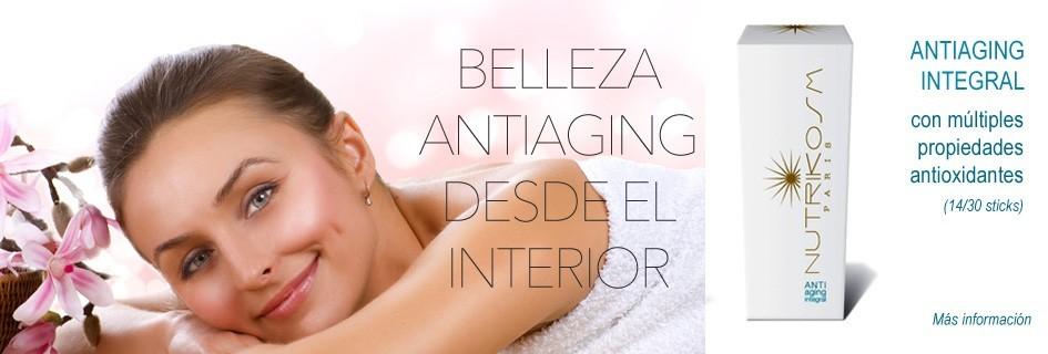 NUTRICOSMÉTICA: BELLEZA ANTIAGING