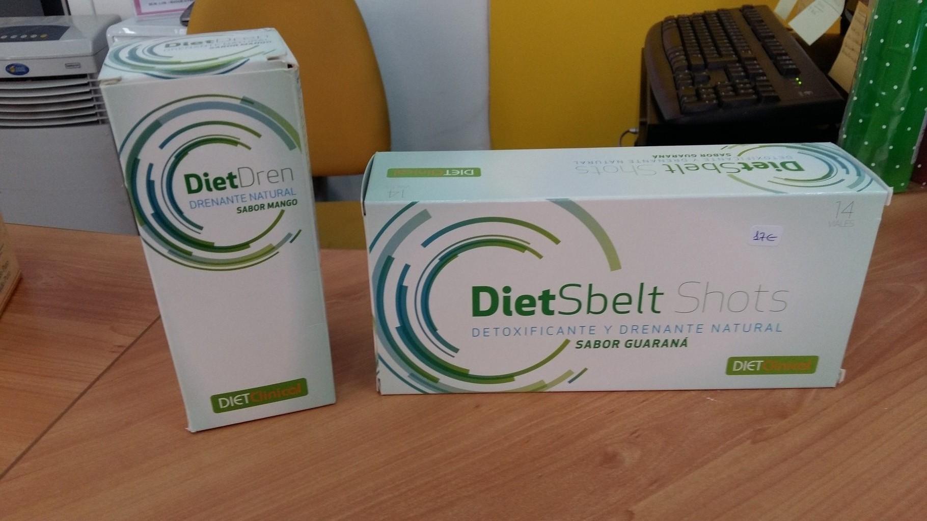 ampollitas drenantes y anticelulíticas, y diet dren para eliminar líquidos