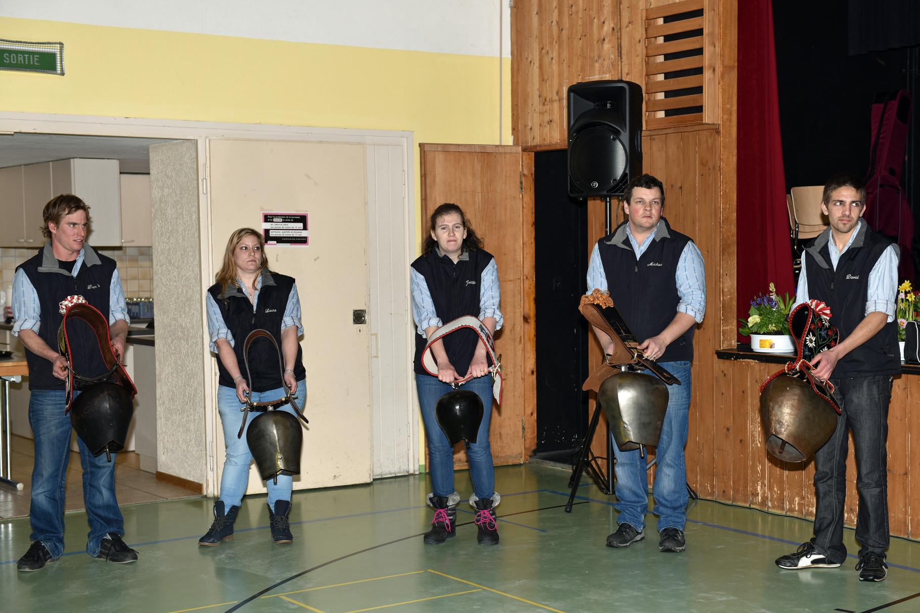 2016.02.07 / Stubete de Nods / Sonneurs de toupins du plateau de Diesse