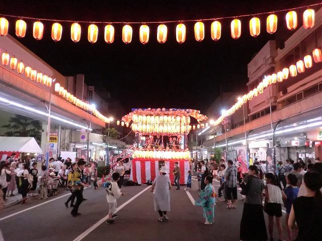 桐生の八木節祭り みんな踊っています