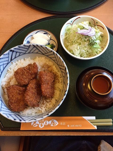 桐生市 志多美屋 ソースカツ丼