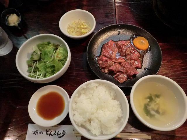 桐生市新宿にある焼肉どんさん亭に行きました。