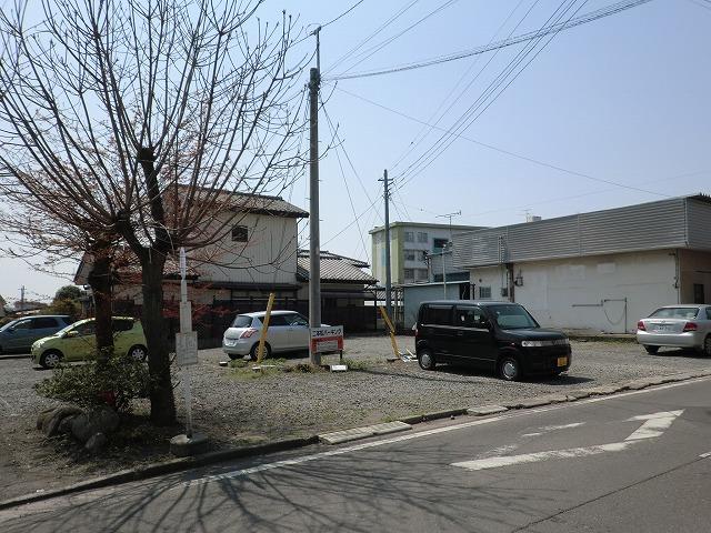 月極貸し駐車場 桐生市相生町3丁目341-5 二本松駐車場