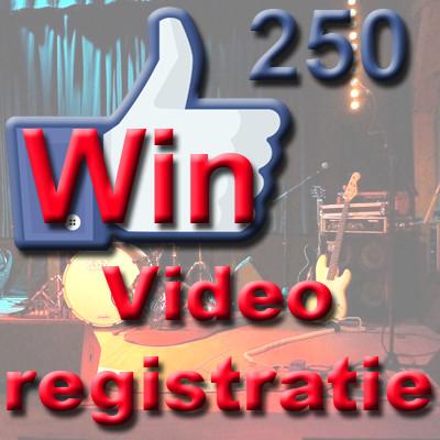 Like onze facebookpagina en maak kans om een gratis videoregistratie van jouw optreden te winnen.