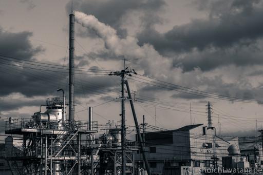 近隣の工場