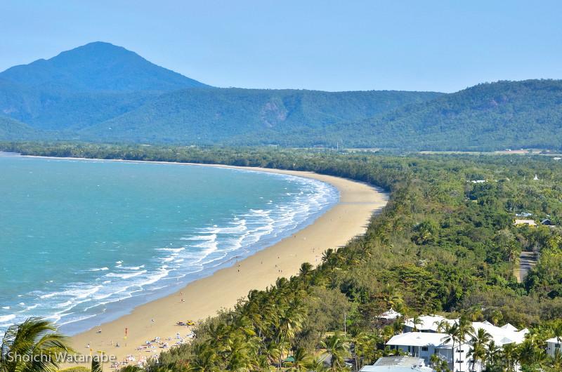真冬ですが、浜ではすっかりリゾートを満喫されています。