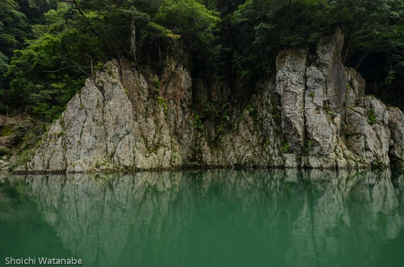 瀞峡の夫婦岩