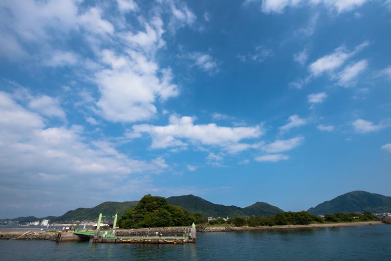 これがかの有名な巌流島です。