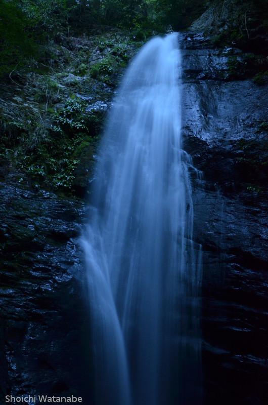 川上村の蜻蛉の滝
