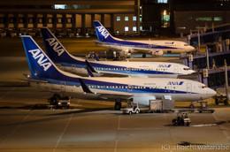 基本的に空港で前泊はしたことがなかったので夜撮りははじめてです。