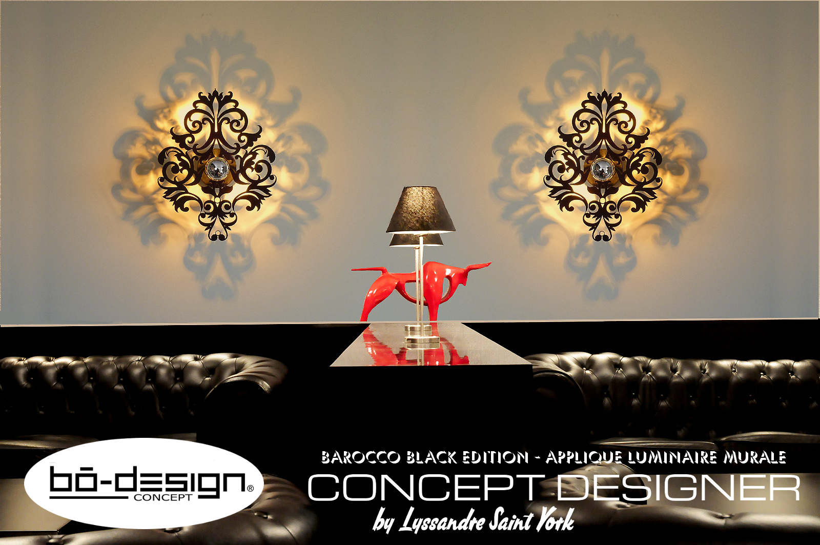 luminaire design baroque concept designer bodesignconcept. Black Bedroom Furniture Sets. Home Design Ideas