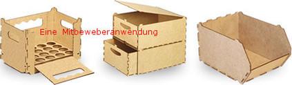 Bei unserer Box kann die weitere Gestaltung und Instandhaltung  nach Wunschort erfolgen.
