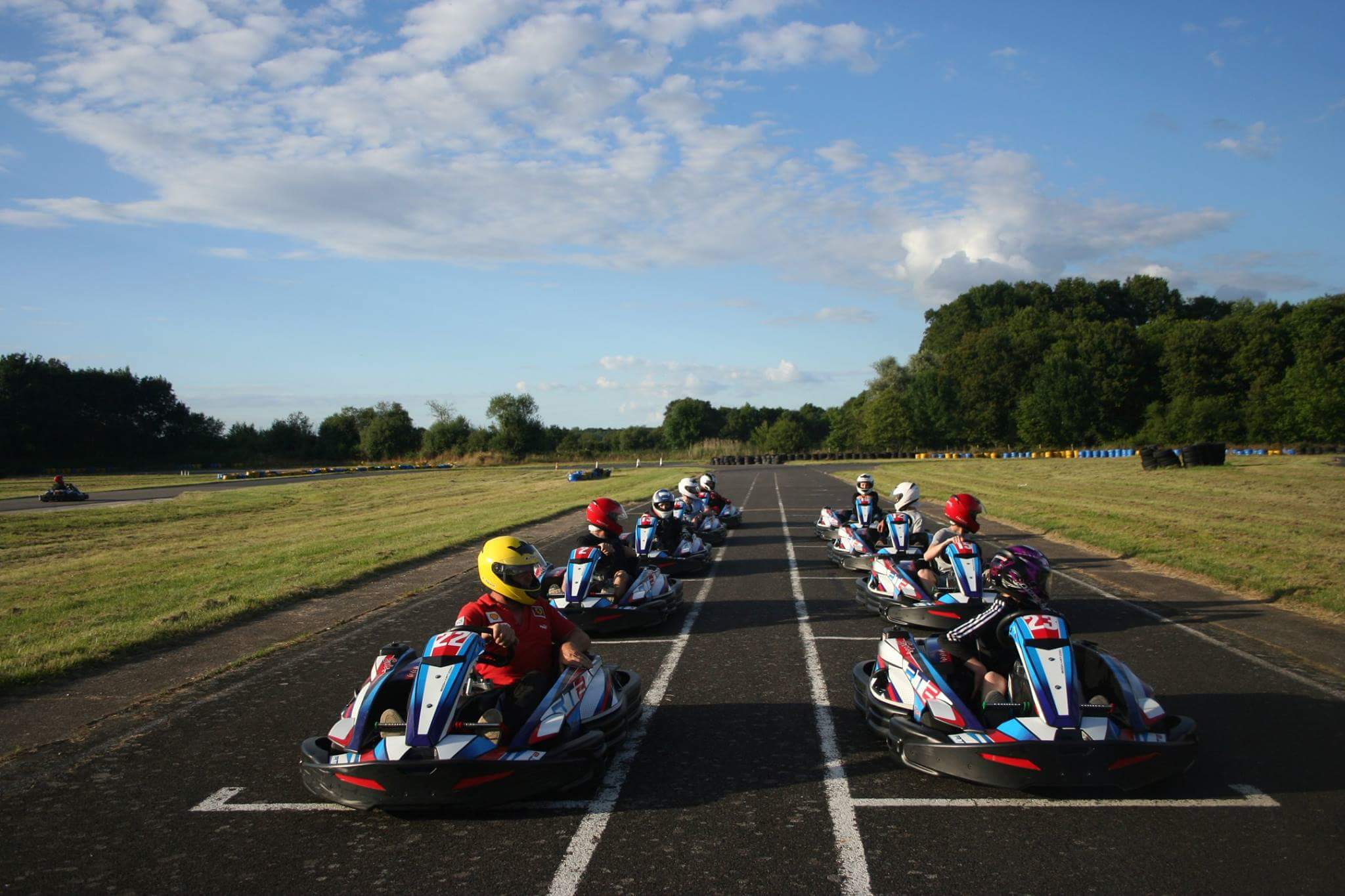 Karting à 7 kms