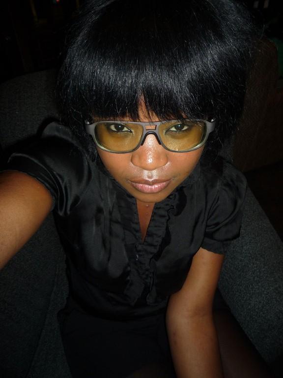 Valerie mit meiner Brille