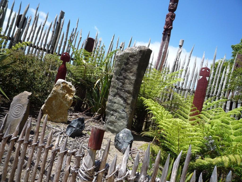Maori Garten