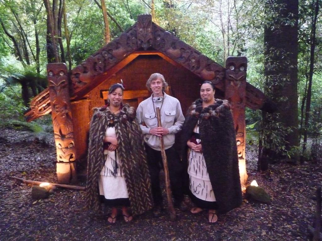 im Maori Dorf