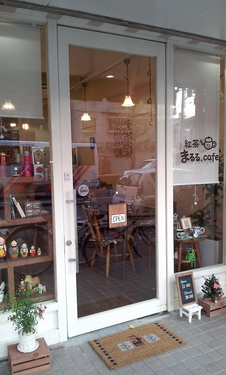 まるる Cafe  ファサード