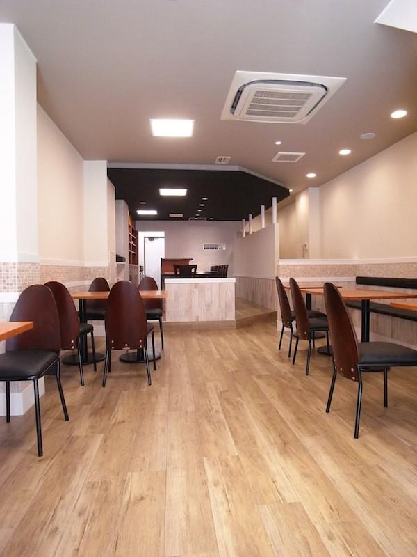 Cafe lalaka 針中野 インテリア