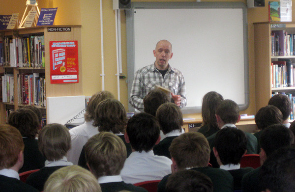 Talking to Year Nine about my long journey to becoming a published author