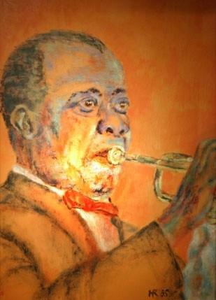 Louis Armstrong © Heidi Reichert