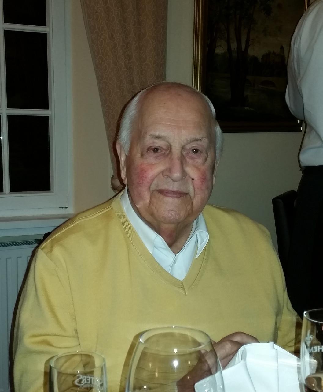Der ehemalige Bürgermeister Hans Segschneider (94)