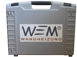 WEM Werkzeugkoffer Flächenheizung- und Kühlung, Wandheizung