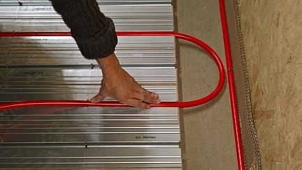 Fußbodenheizung WEM