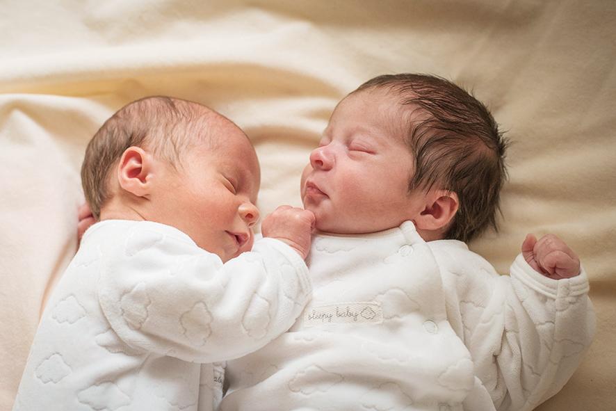 Babyglück im Doppelpack