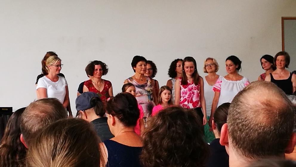 Chor der Musikschule mit Daniela Hennecke