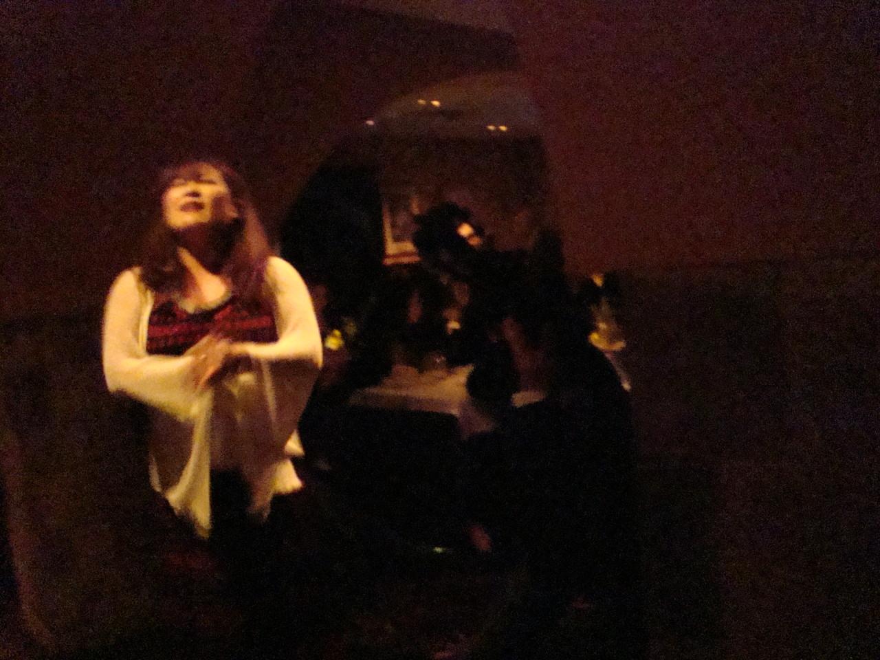 最終日はレニータ・ゼンティルさんの紹介でなんと O faia で3曲熱唱しました。
