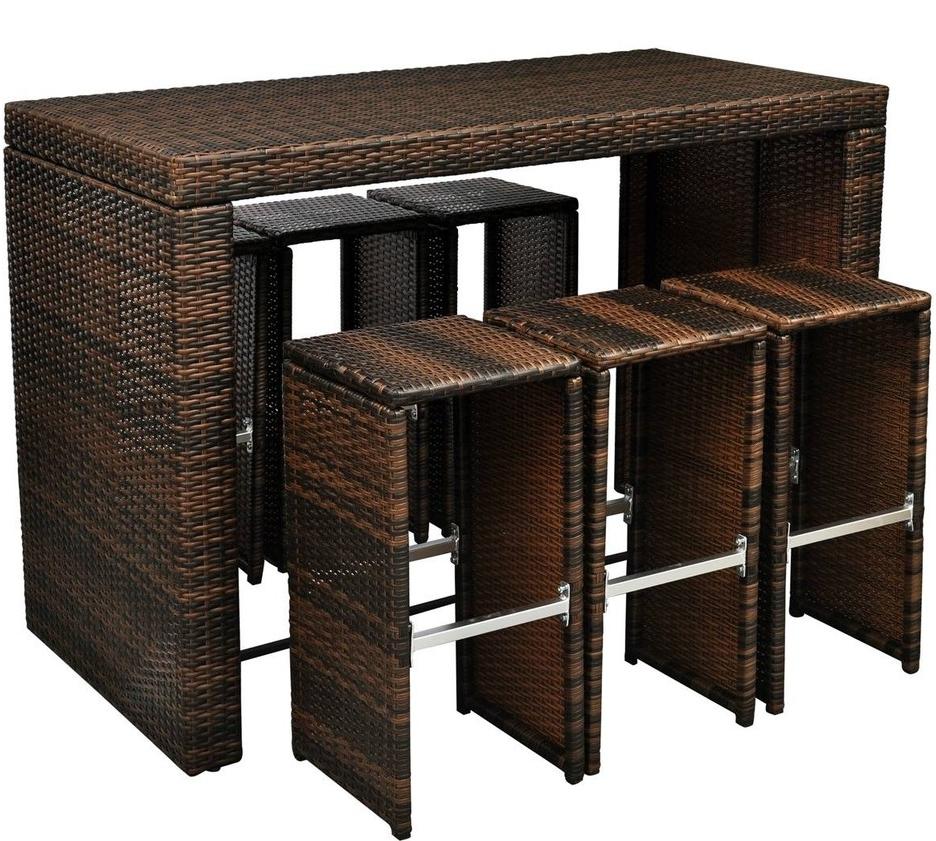 Tavolo alto 6 sgabelli bar benvenuti su sandro shop - Tavolo alto bar ...