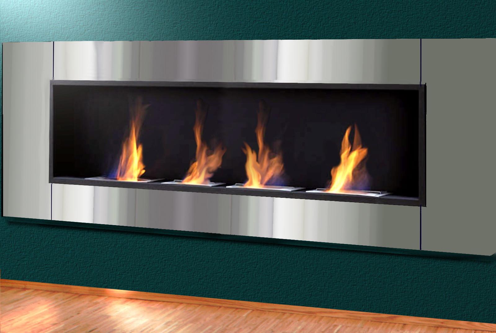 Biocamino 4 bruciatori benvenuti su sandro shop - Caminetti bioetanolo design ...