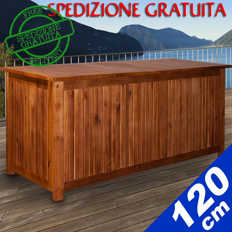 Panca da giardino benvenuti su sandro shop for Cassapanca online
