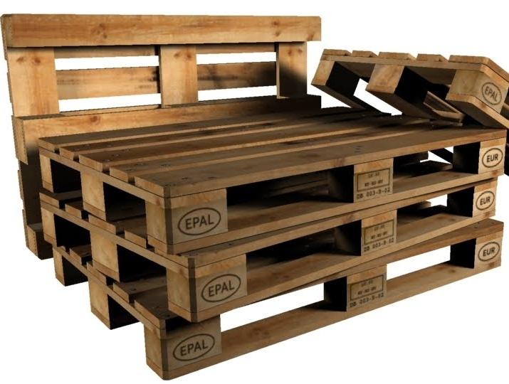 Credenza Fatta Con I Pallet : Arredare con i pallet idee per il riuso dei bancali di legno