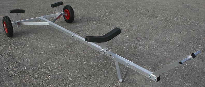 carrello alaggio alluminio