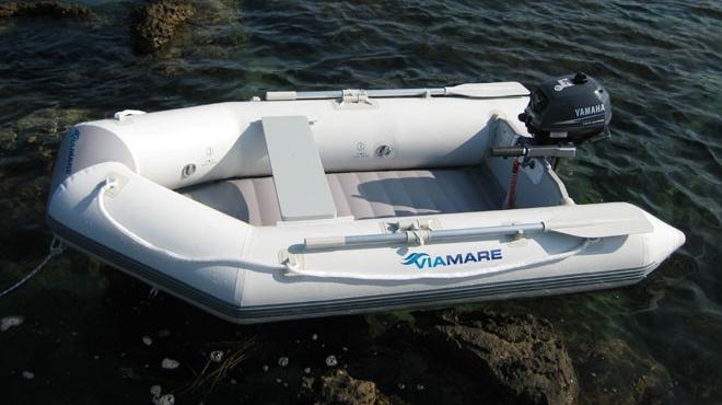 tender +gommone +Viamare 250 Airdeck #Carp fishing #chiglia #V #gonfiabile