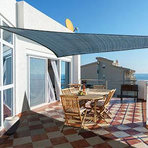 tenda #vela #traspirante #ombreggiante #triangolare