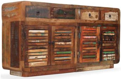 credenza #vintage #legno #recupero #riciclato #industriale