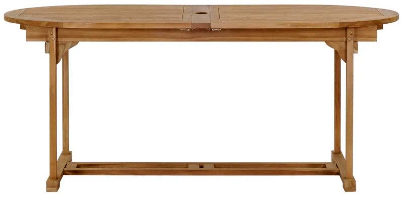 tavolo #teak #280 cm #estensibile #180 cm #ovale