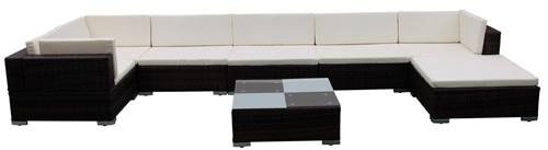 divano giardino polyrattan