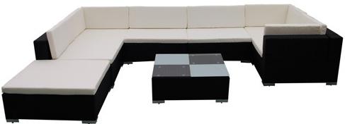divani poltrone soggiorno giardino polyrattan rattan sintetico vendita