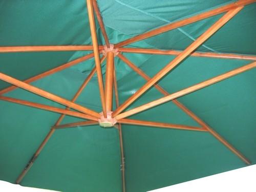 ombrellone +decentrato +laterale +braccio +legno +4x3 +3,5 +3x3
