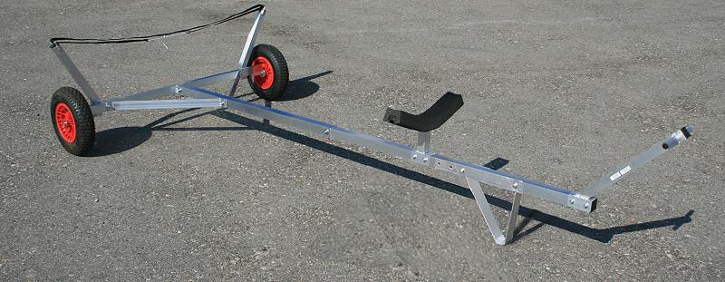 carrello alaggio varo laser Optimist
