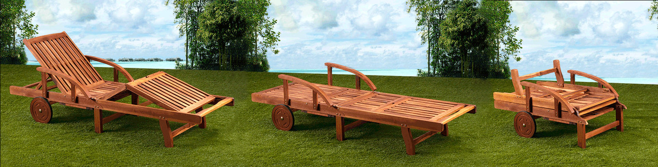 lettino sdraio +posizioni +giardino +terrazzo