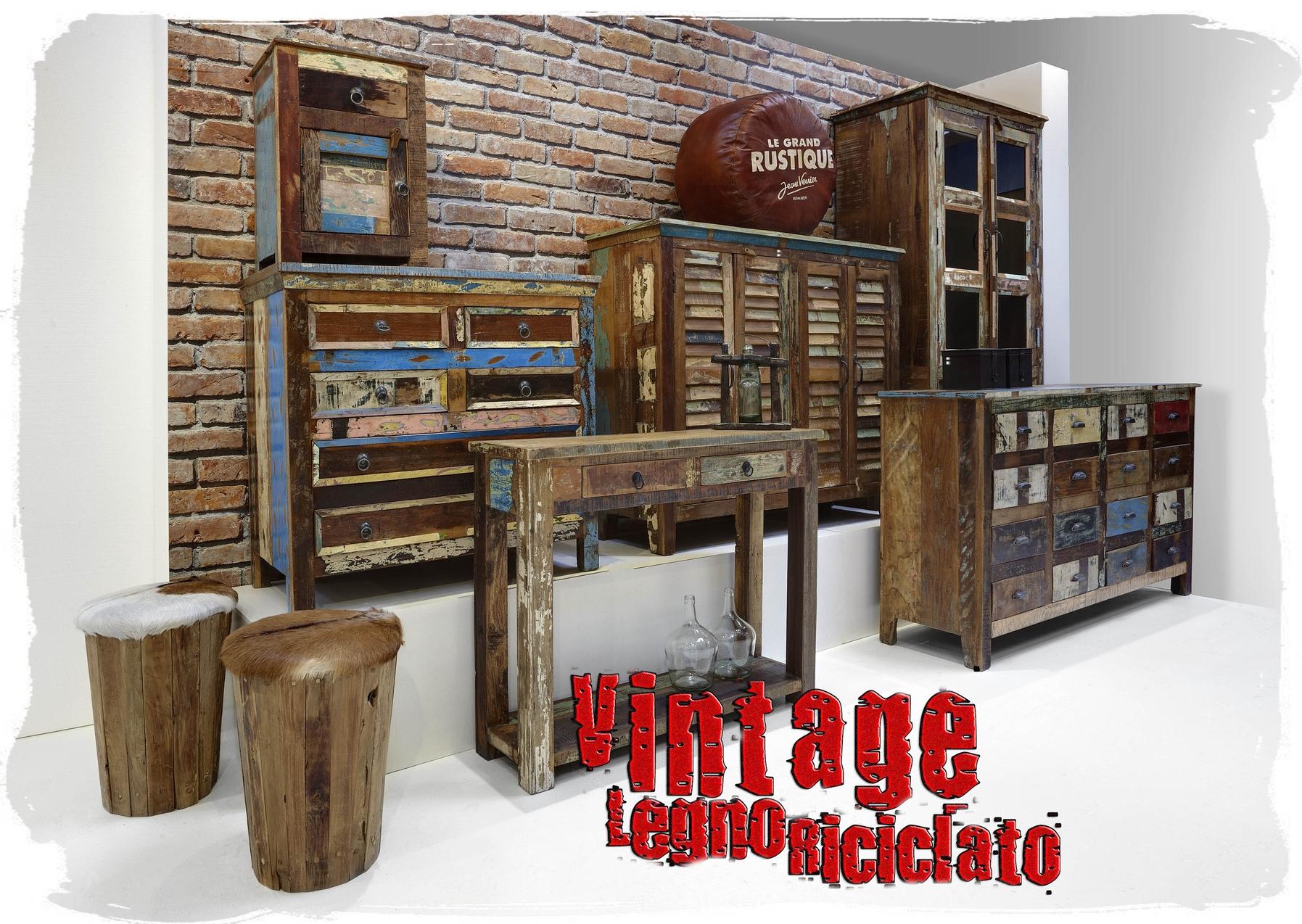 Vintage legno riciclato benvenuti su sandro shop - Mobiletti in legno ...