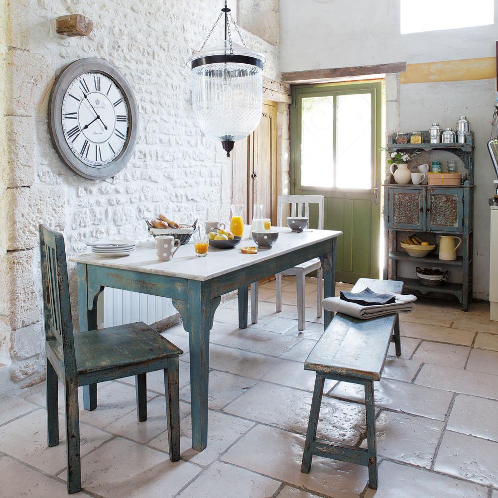 cucina stile provenzale immagini: cucina in stile provenzale ... - Tavoli Da Soggiorno Stile Provenzale