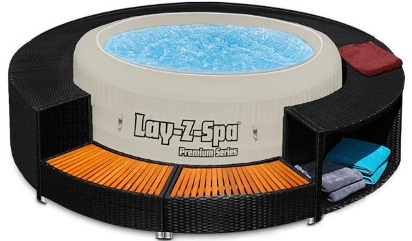 Bestway LAY-Z-Spa piscina idromassaggio gonfiabile