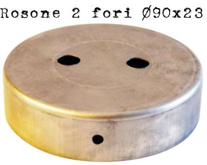 rosone #2 #uscite #lampade #portalampade #vintage #industriale #fori #ferro #metallo
