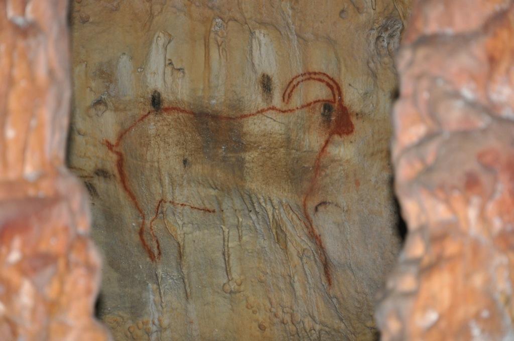 Grand Bouquetin - Grottes de Cougnac - Pays de Gourdon