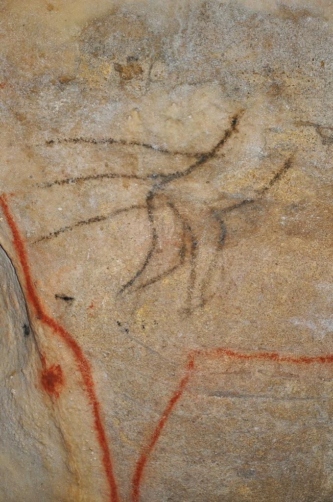 Homme blessé - Grottes de Cougnac - Pays de Gourdon